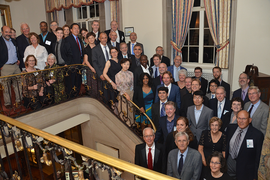 AGAGE members celebrate the network's 40th anniversary at the MIT Endicott House in Dedham, Mass..JPG