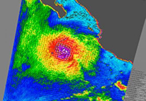 Hurricane Javier (Source: NASA/JPL)