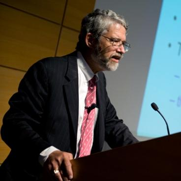 John Holdren speaking at MIT