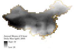 China ozone
